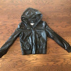 Aldo Faux Leather Jacket
